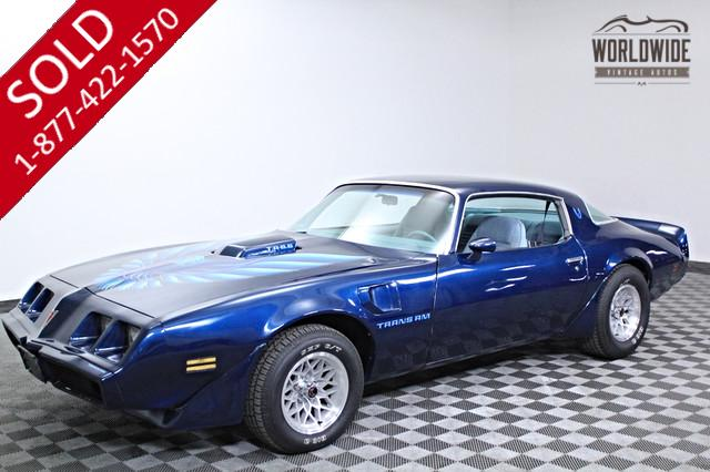 1979 Pontiac Trans Am T/A 6.6L V8 Rare for Sale