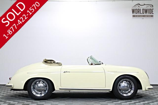 1956 Porsche 356 Vintage Speedster 1600cc for Sale