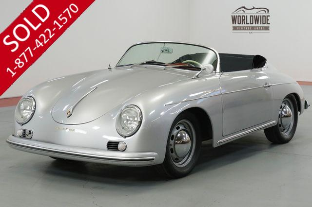 1957 PORSCHE SPEEDSTER REPLICA STUNNING 356 REPLICA. MANY TASTEFUL UPGRADES (VIP)