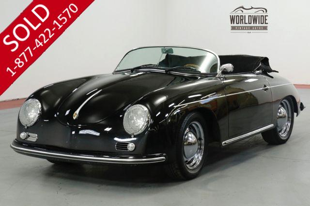 1957 PORSCHE SPEEDSTER VINTAGE SPEEDSTER BUILD! 4 WHEEL DISC 1600CC