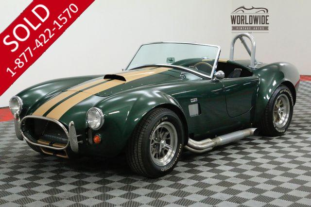 1965 SHELBY COBRA FACTORY FIVE 302 CRATE TREMEC 5 SPEED