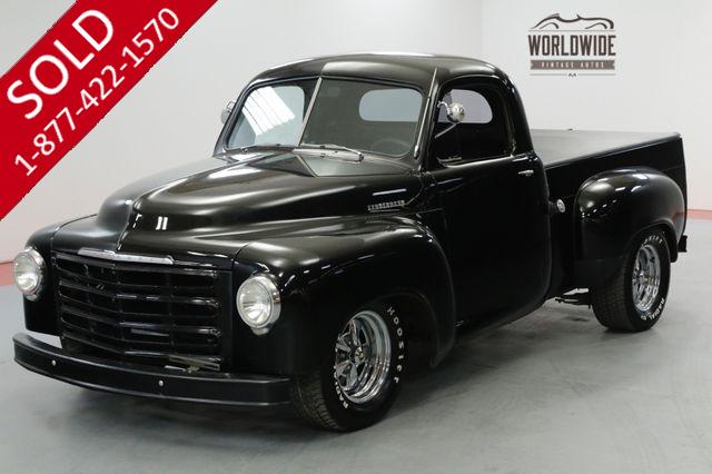1949 STUDEBAKER TRUCK HOT ROD VINTAGE AC V8 5K MILES COLLECTOR