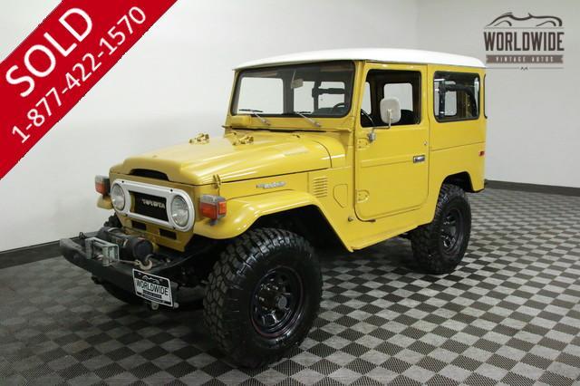 1976 Toyota FJ40 Restored for Sale