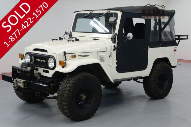 1974 TOYOTA FJ40 2F ENGINE OFF ROAD SET UP ONE OWNER 30YRS.