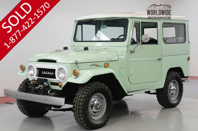 1968 TOYOTA  FJ40 NUT AND BOLT RESTORATION RARE. SPRING GREEN (VIP)