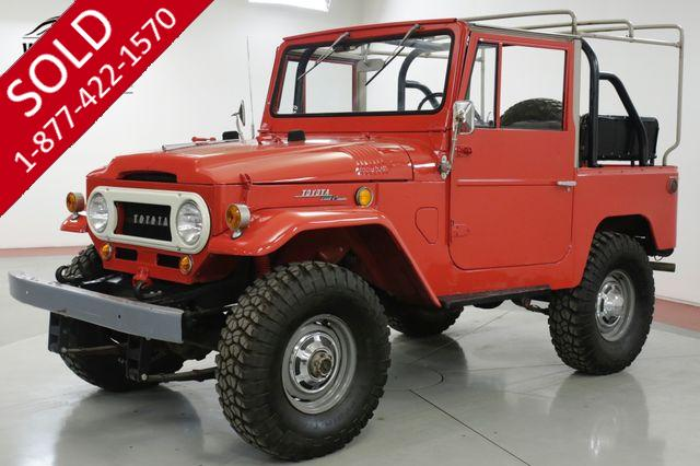 1968 TOYOTA FJ40 RARE FACTORY SOFT TOP CA TRUCK COLLECTOR 4x4 (VIP)