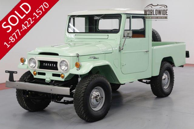 1963 TOYOTA FJ45 LAND CRUISER SHORT BED HIGH DOLLAR COLLECTOR