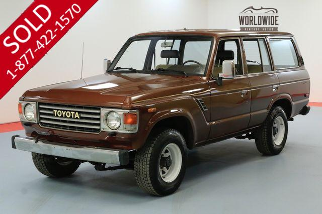 1984 TOYOTA FJ60 4X4. NEW PAINT GREAT SHAPE CLEAN CARFAX