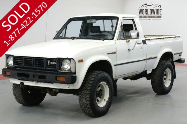 1980 TOYOTA  HILUX  SR5. RARE ORIGINAL COLLECTOR 4x4. LOW MILES!