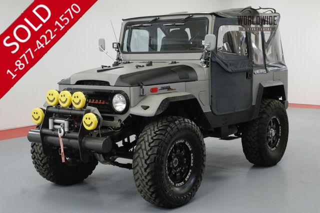 1971 TOYOTA LAND CRUISER FJ40 HIGH DOLLAR BUILD CRATE 350V8 DISC BRAKES AC
