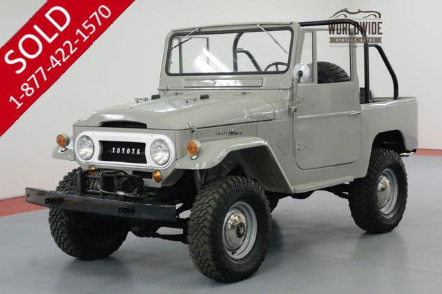 1964 TOYOTA LAND CRUISER FJ40 FRAME UP RESTORED COLLECTOR 4x4