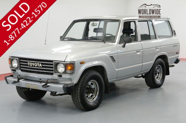 1987 TOYOTA LAND CRUISER FJ60. CA TRUCK SINCE NEW. 5K MILES! AC!