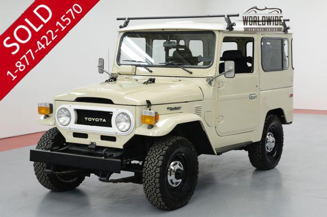 1978 TOYOTA LAND CRUISER FJ40 VINTAGE 4X4 CONVERTIBLE RESTORED