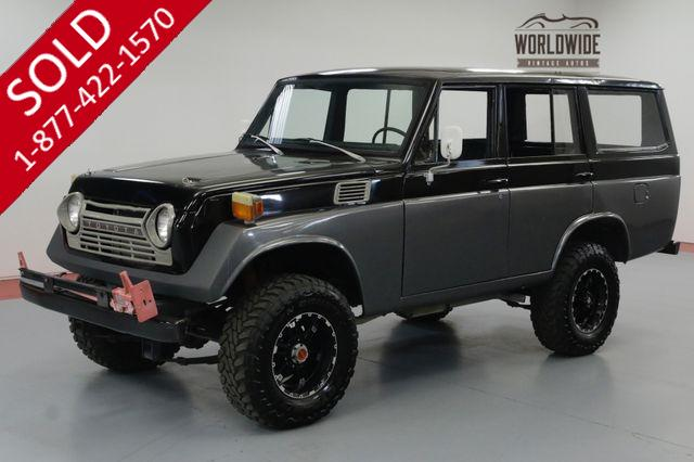 1969 TOYOTA LAND CRUISER  FJ55. RESTORED CUSTOM. 350 V8! FJ40 FJ45.