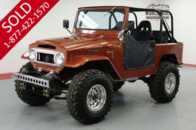 1970 TOYOTA LAND CRUISER FJ40 HOD ROD! 383 V8! PS. PB. 4x4!