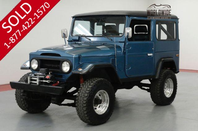 1974 TOYOTA LAND CRUISER FJ40 RESTORED V8 WINCH AUTO 4x4 CONVERTIBLE