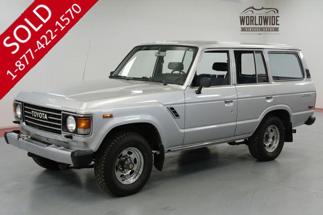 1985 TOYOTA LAND CRUISER IMMACULATE AND ORIGINAL!  EXTREMELY CLEAN 4X4
