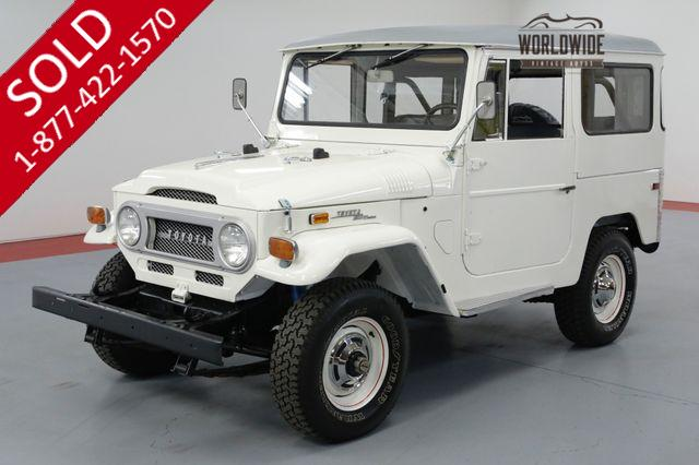 1986 TOYOTA LAND CRUISER FJ60. LOW MILES! DRY AZ COLLECTOR GRADE 4x4.