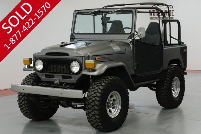 1971 TOYOTA LAND CRUISER FJ40 CUSTOM 350 V8 4x4 LIFT. CUSTOM WHEELS!