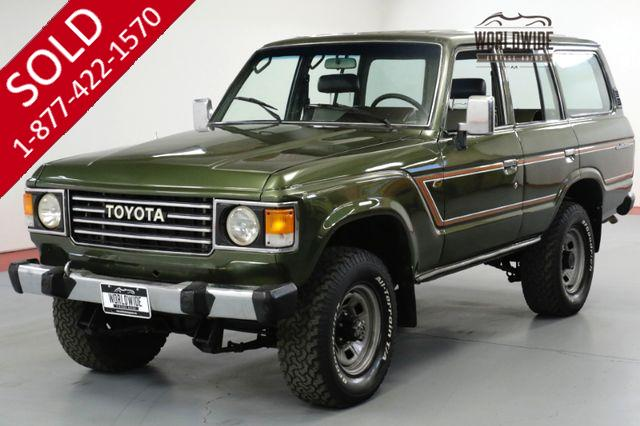 1986 TOYOTA LAND CRUISER FJ60/62 RESTORED COLLECTOR. 4x4. AC GORGEOUS