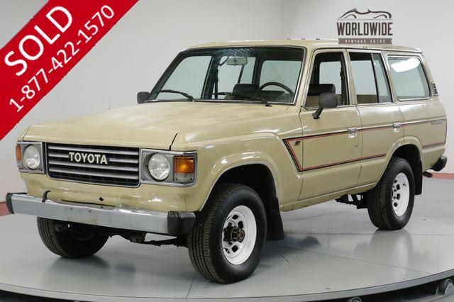1986 TOYOTA  LAND CRUISER FJ60 RARE 4x4 PS PB VINTAGE COLLECTOR FJ62