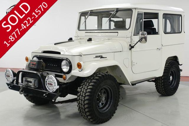1966 TOYOTA LAND CRUISER  FRAME OFF RESTORE FUEL INJECTED VORTEC V8