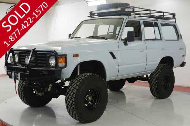 1987 TOYOTA LAND CRUISER  FJ60 FUEL INJECTED LS CUSTOM LIFT RACK