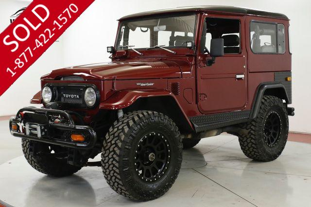 1977 TOYOTA  LAND CRUISER  FJ40 FUEL INJECTED LS CONVERSION LIFTED WINCH