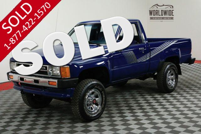 1987 TOYOTA PICKUP ALL ORIGINAL COLLECTOR GRADE 4x4. AC!!!