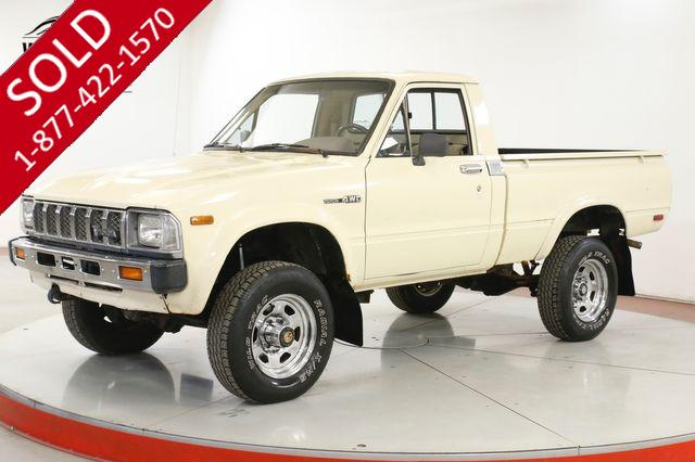 1983 TOYOTA  SR5 RARE SHORTBED SR5 ALL ORIGINAL 4X4