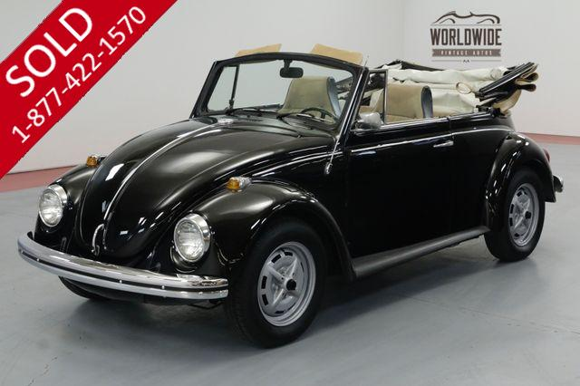 1969 VOLKSWAGON BEETLE EXTENSIVE RESTORATION. CONVERTIBLE. COLLECTOR.