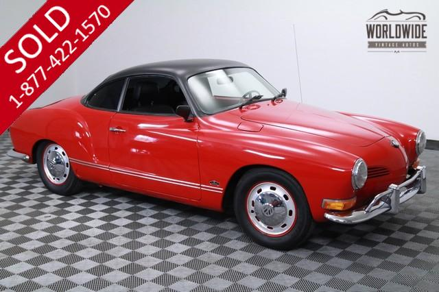 1970 Volkswagon Karman Ghia Restored for Sale