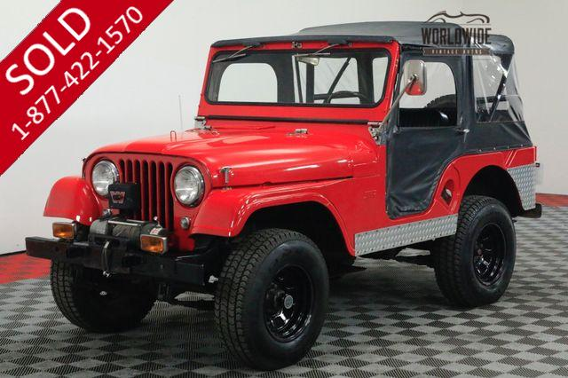 1963 WILLYS CJ3 INLINE 4 CYLINDER SOFT TOP WARN WINCH 4X4