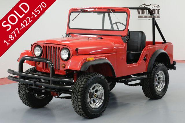 1962 WILLYS CJ5  FRAME OFF RESTORED HOT ROD V8 4X4 48 MILES