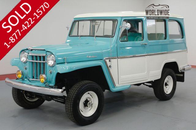1969 WILLYS WAGON FULLY RESTORED! RARE! V8! STUNNING. 4X4.