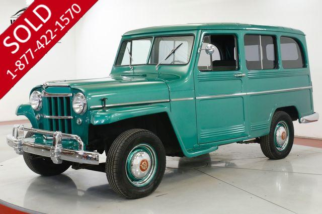 1959 WILLYS  WAGON 2 OWNER TIME CAPSULE EXCELLENT CONDITION