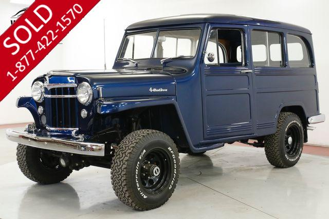 1954 WILLYS  WAGON FRAME OFF RESTORATION HIGH DOLLAR COLLECTOR