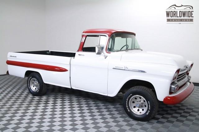 1958 Chevrolet Apache 3100 Big Window For Sale