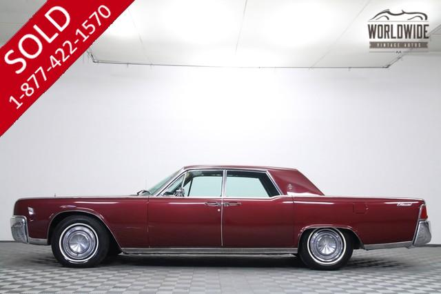 1964 Lincoln Continental V8 Suicide Doors For Sale