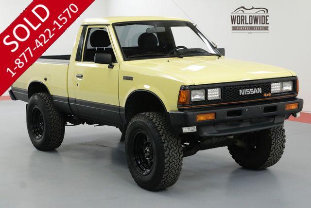 1985 nissan pickup 4x4