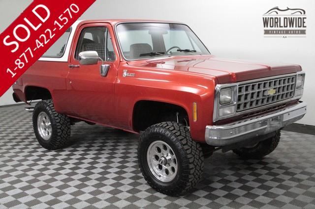 1980 Chevy Blazer for Sale
