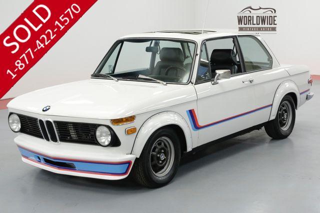 1974 BMW 2002 RESTORED TURBO WIDE BODY TRIBUTE GORGEOUS