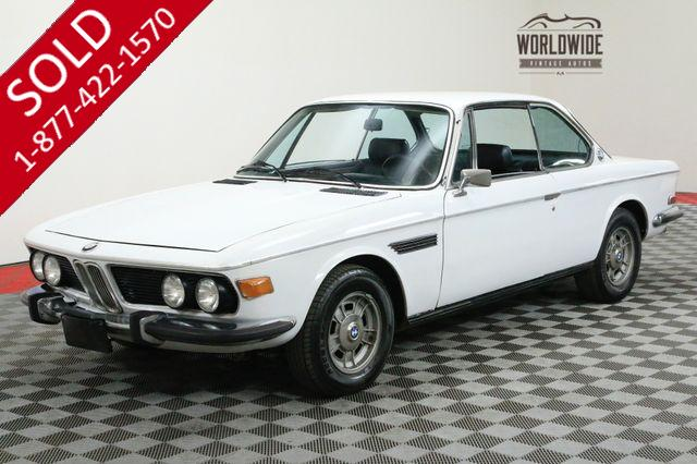 1969 BMW 2800CS EXTREMELY RARE 2800 COUPE AC!