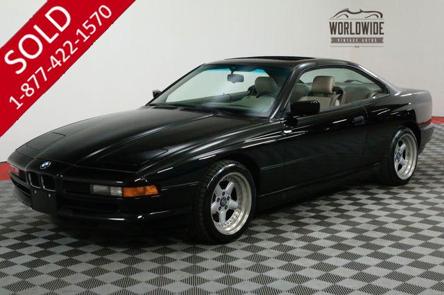 1991 BMW 850i COLLECTOR GRADE. V12. LOW MILES! MAINTAINED.