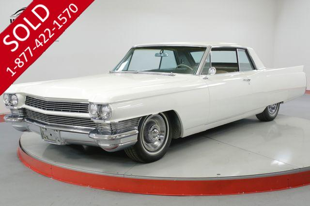 1964 CADILLAC COUPE DEVILLE  429V8. AUTOMATIC PS PB A/C CAR!