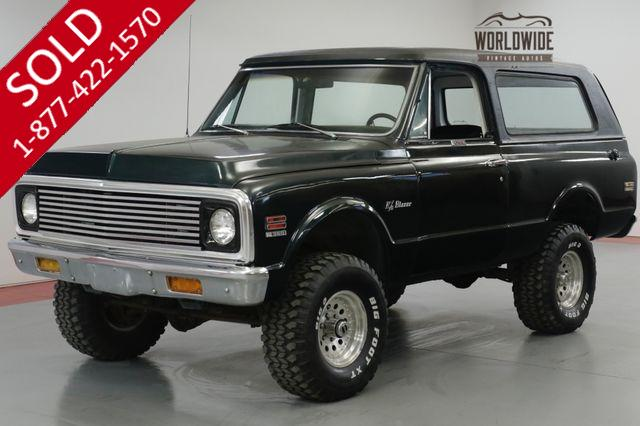1972 CHEVEROLET  BLAZER 400CID V8. TH350 AUTOMATIC 4X4 PS PB CLEAN!