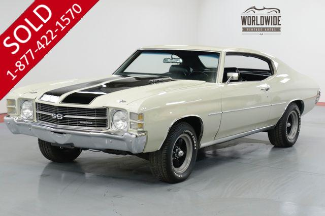 1971 CHEVEROLET  CHEVELLE BUILT 400 V8. AUTO. PS. PB. COLLECTOR MUSCLE