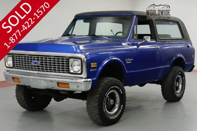 1972 CHEVROLET BLAZER 400V8 AUTOMATIC TRANSMISSION CST 4X4 DIGITAL