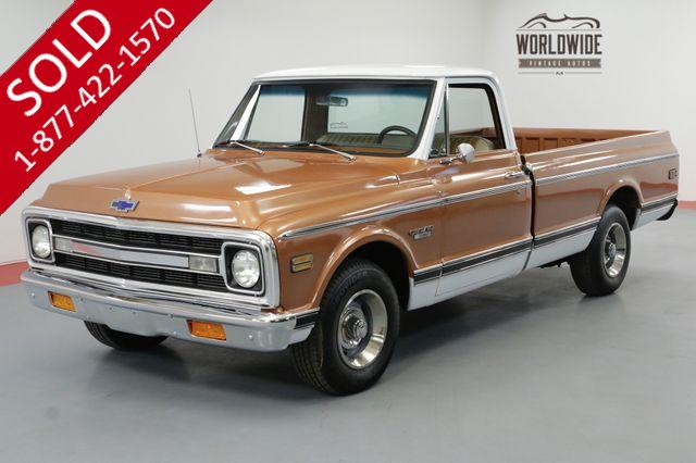 1970 CHEVROLET C10 400CI V8 4-SPEED NEW PAINT A/C CST PACKAGE