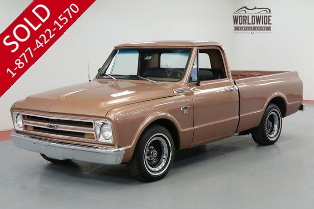 1967 CHEVROLET C10 LS SWAPPED V8 TH350 AUTO FRONT DISC